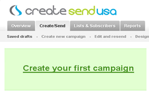create email marketing