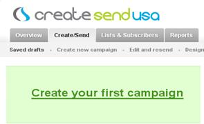 create email marketing